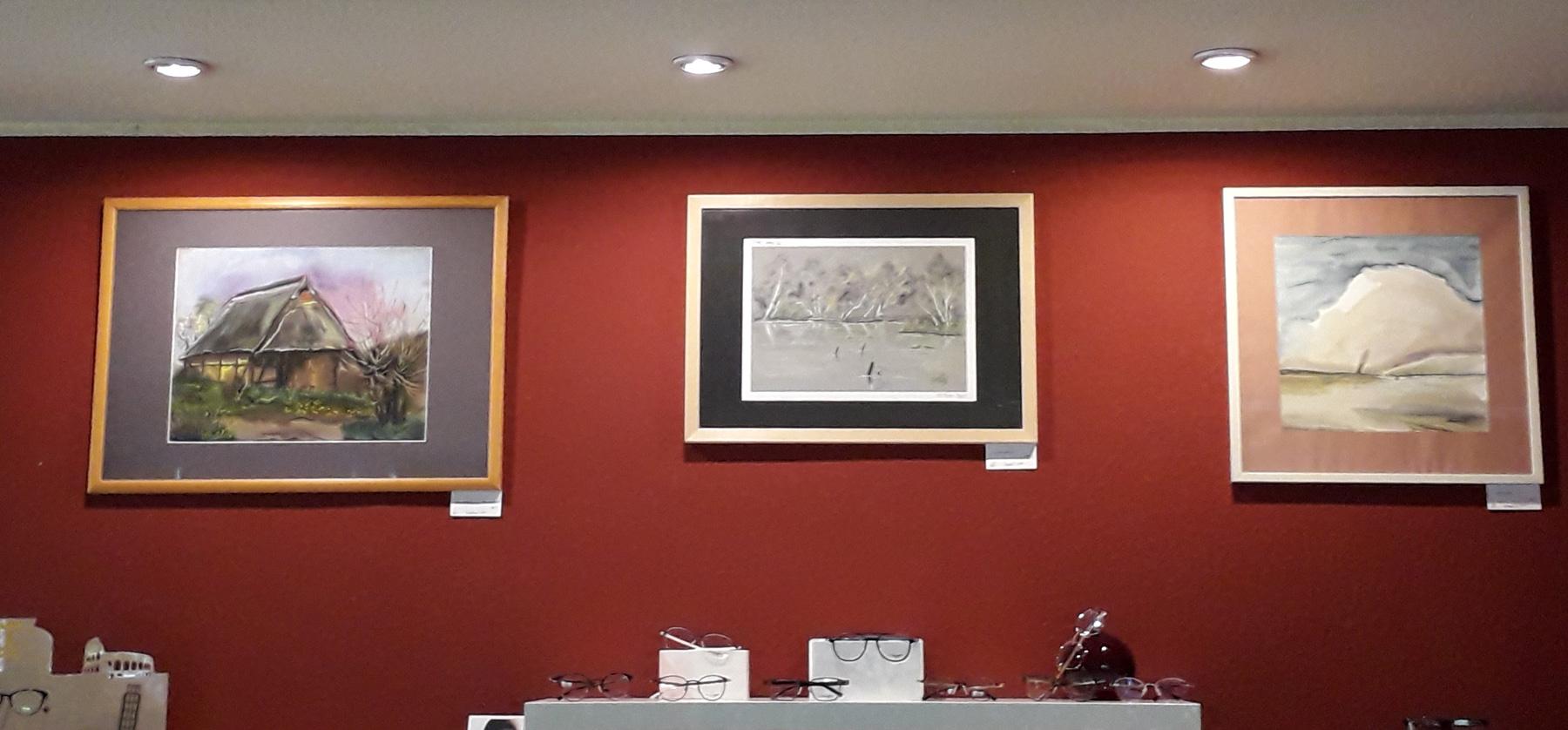 brillenstudio neuenhagen ausstellung susanne geisler - Kunstgalerie